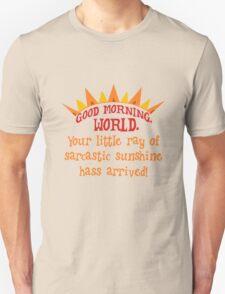 Sarcastic sunshine Unisex T-Shirt