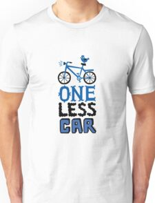One Less Car T-Shirt