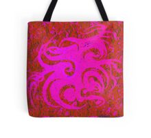 """""""Dance of the Pink Spring Spirits"""" Tote Bag"""