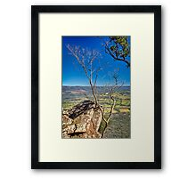 Autumn Afternoon at Cathedral Ranges Framed Print