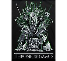 Throne of games Photographic Print