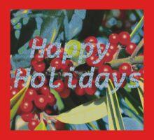 Holiday berries Kids Tee