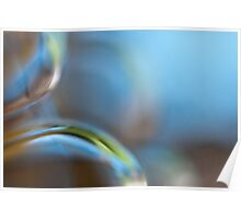 Glass Abstract - JUSTART © Poster