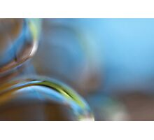 Glass Abstract - JUSTART © Photographic Print