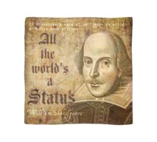 All The World's a Status Scarf