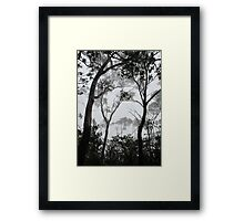A Walk in the Clouds #1 Framed Print
