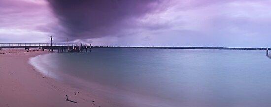 Colour sky at Dolls point by donnnnnny