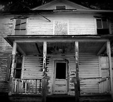 They Boarded Up The Upper Floor  by Paul Lubaczewski