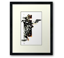 Metal Gear Solid: Solid snake Framed Print