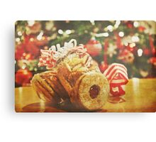 A Little Christmas Gift Canvas Print