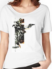 Metal Gear Solid: Solid snake Women's Relaxed Fit T-Shirt