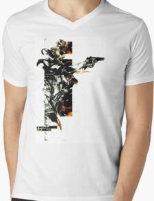 Metal Gear Solid: Solid snake Mens V-Neck T-Shirt