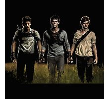 unexpected hero of the scorch trials Photographic Print