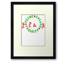 A Tribe Called Quest replica Framed Print
