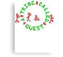 A Tribe Called Quest replica Canvas Print