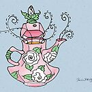 Carnation Tea by Patricia Anne McCarty-Tamayo