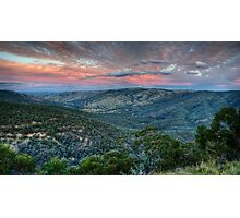 Sunset Blessed (Hill End) Photographic Print