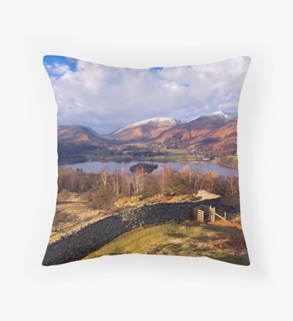 Grasmere - The Lake District Throw Pillow