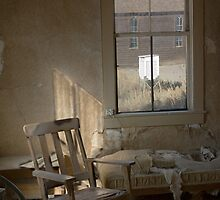 """Nowhere to Go"" Bodie CA, An empty room by franciscokh"