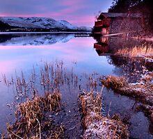 Pooley Bridge Boathouse by Dave Hudspeth
