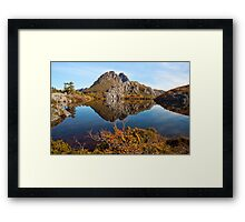 Twisted Cradle Framed Print