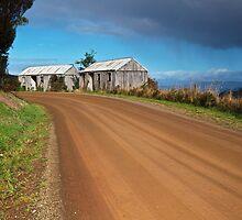 Pickers Huts, Gardners Bay #3 by Chris Cobern
