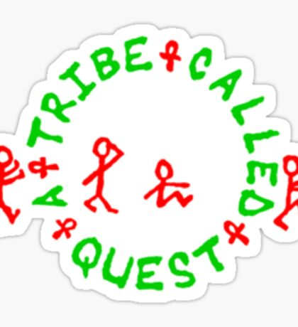 A Tribe Called Quest replica chest  Sticker