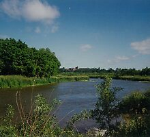 Beautiful scenery along the Mighty Grand River by Joseph Green