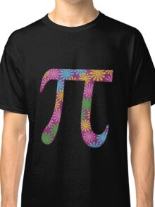 Spring pi tshirts  flowery colorful pi day gifts Classic T-Shirt