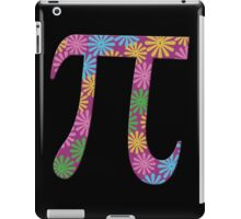 Spring pi tshirts  flowery colorful pi day gifts iPad Case/Skin