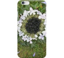 blackberry harvest mandala iPhone Case/Skin