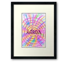 Bright Ideas Framed Print