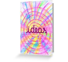 Bright Ideas Greeting Card