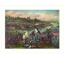 Philippine American War Battle of Paceo (Manila) February 4-5 1899 Art Print