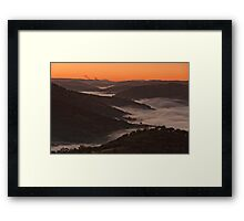 Morning at Kissing Point Framed Print