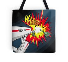 Lichtenstein Star Trek - Whaam! Tote Bag