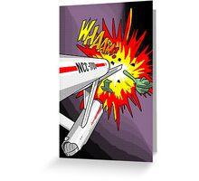 Lichtenstein Star Trek - Whaam! Greeting Card