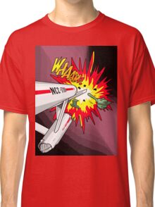 Lichtenstein Star Trek - Whaam! Classic T-Shirt