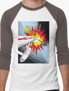 Lichtenstein Star Trek - Whaam! Men's Baseball ¾ T-Shirt