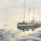 Leaving San Diego Harbor by Joe Cartwright