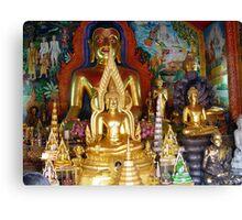Buddhas Temple Canvas Print