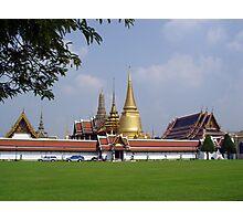 Bangkok Temple Photographic Print