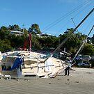 poor yacht by DEB CAMERON
