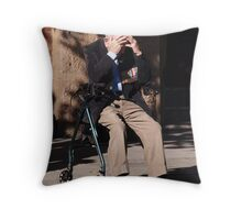 Medals and Memories Throw Pillow