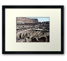 Glory or Death? Framed Print