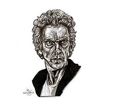 Peter Capaldi - Doctor Who - Drawing  Photographic Print