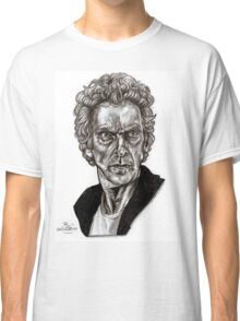 Peter Capaldi - Doctor Who - Drawing  Classic T-Shirt