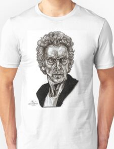 Peter Capaldi - Doctor Who - Drawing  T-Shirt