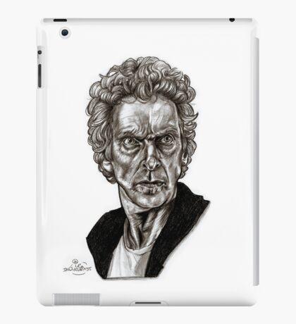 Peter Capaldi - Doctor Who - Drawing  iPad Case/Skin