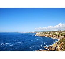 Cornish blue. Photographic Print